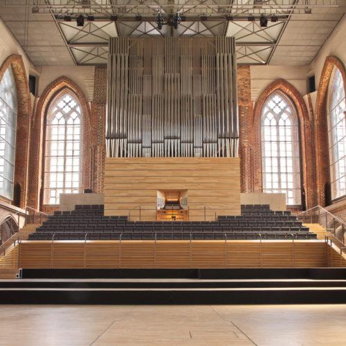 Die Königin der Instrumente für die Konzertkirche