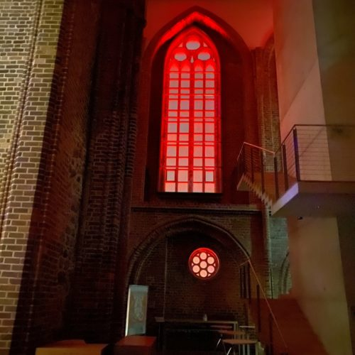 Konzertkirche erstrahlte am 28.02.2021 im Lichtspiel